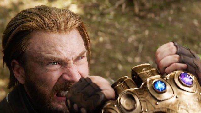 Chris Evans en Vengadores: Infinity War