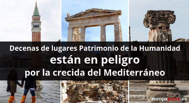 Patrimonio de la Humanidad en peligro en el Mediterráneo