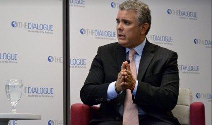 """Duque rechaza negociar el cese del fuego con el ELN hasta que el grupo armado no """"libere a todos los secuestrados"""""""