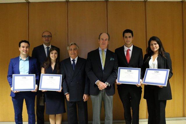 Premiados por la Asociación Española de Normalización (UNE)