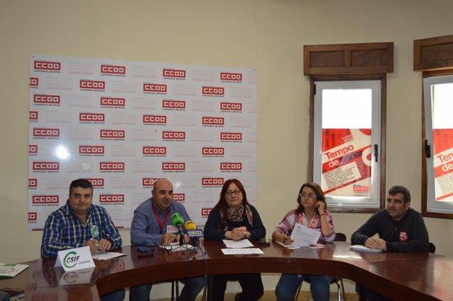 Movilizaciones en Correos en Galicia