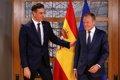 PEDRO SANCHEZ SOSTIENE QUE SUS PRESUPUESTOS DEMUESTRAN EL COMPROMISO DE ESPANA CON LA UE