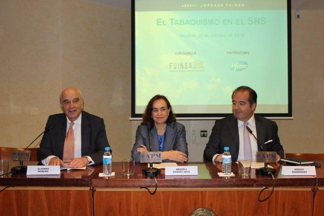 Jornada 'El Tabaquismo en el SNS'