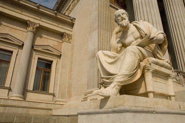Estatua de un filósofo