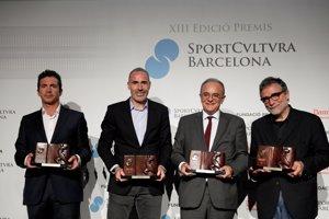 Jaume Plensa, Andrés Iniesta i Garbiñe Muguruza, premis Sport Cultura Barcelona 2017 (SPORT CULTURA)