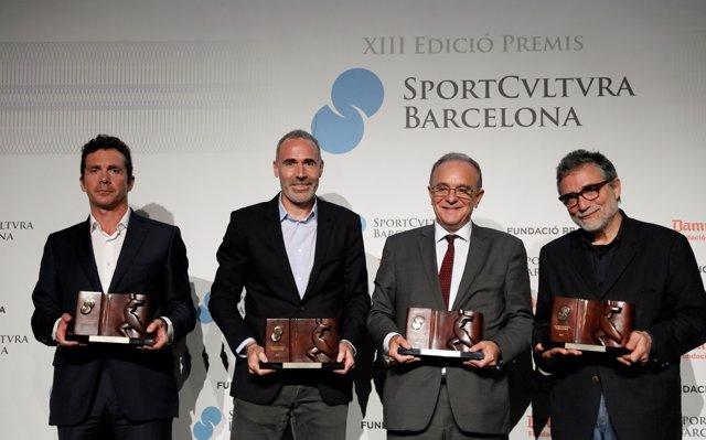 Jaume Plensa, Andrés Iniesta i Garbiñe Muguruza, premis Sport Cultura Barcelona 2017