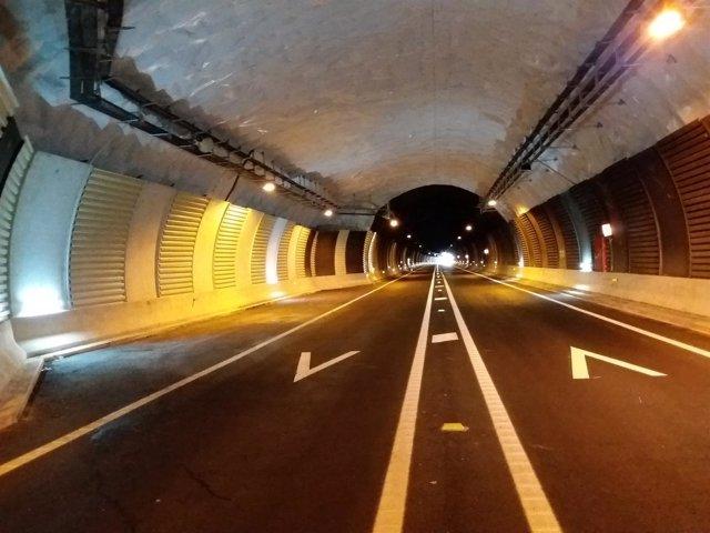 Imagen de los túneles de Belate