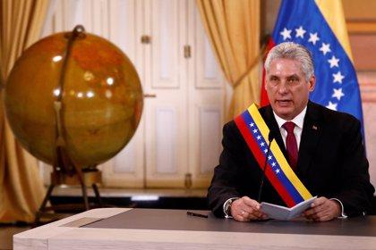 """Díaz-Canel asegura que seguirá reclamando el fin de la """"genocida y aberrante"""" política de bloqueo de EEUU sobre Cuba"""