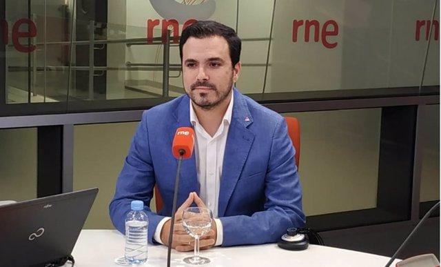 Coordinador federal de IU, Alberto Garzón
