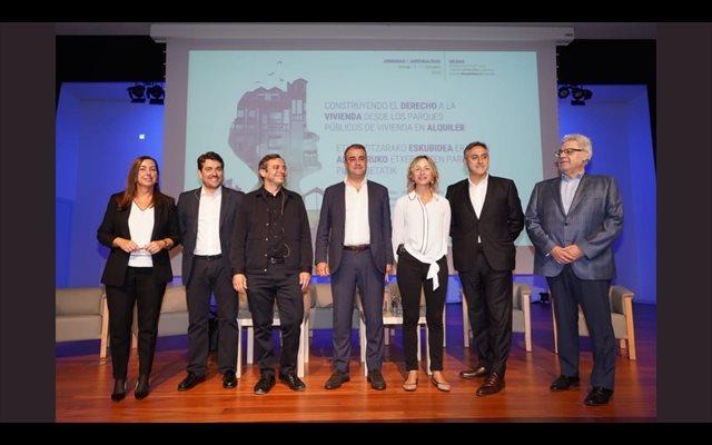Andalucía presenta la gestión de su parque público de viviendas en unas jornadas de promotores públicos en Bilbao