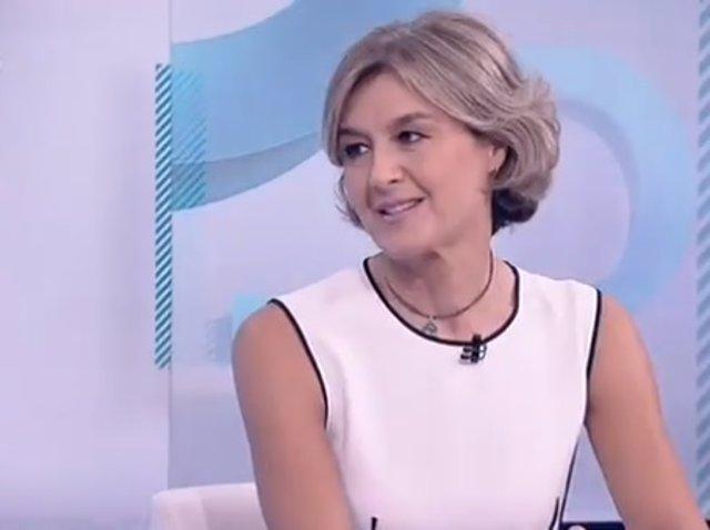 Isabel García Tejerina, vicesecretaria de Acción Social del PP, entrevista enTVE