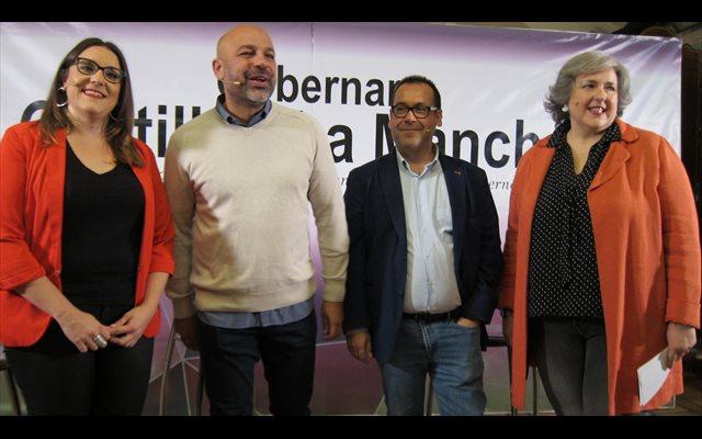 Podemos e IU C-LM confluirán en los comicios de 2019 para formar un gobierno 'honrado'