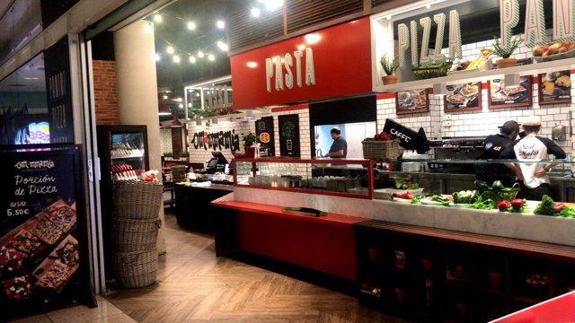 Eat Out obre un restaurant O Mamma Mia a l'Aeroport de Barcelona