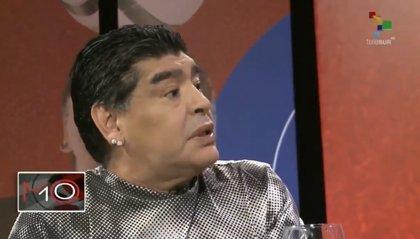 Diego Armando Maradona preocupa a su entorno