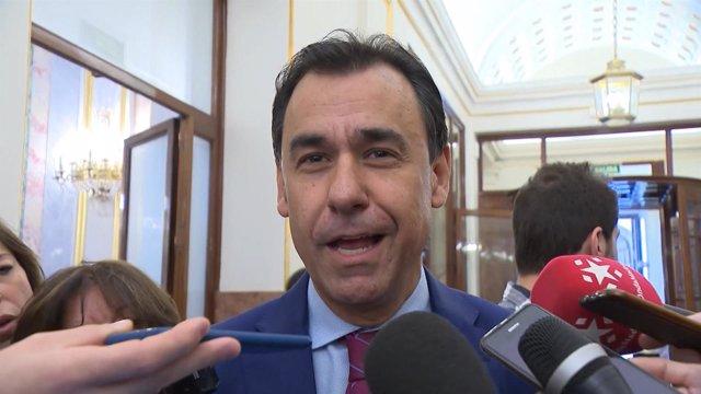 Martínez Maillo en el Congreso de los diputados