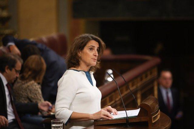 Teresa Ribera presenta el Real Decreto de Medidas urgentes para la transición en