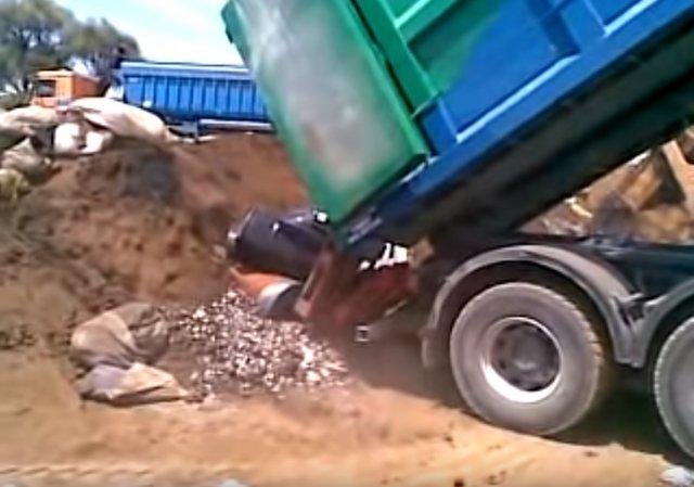 Una imagen del polémico vídeo del vertedero de San Fernando de Henares