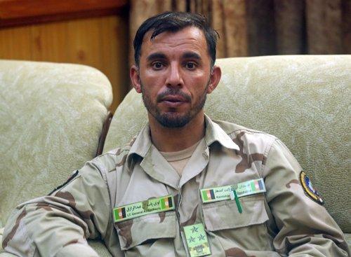 El comandante de la Policía de Kandahar, el general Abdul Razeq