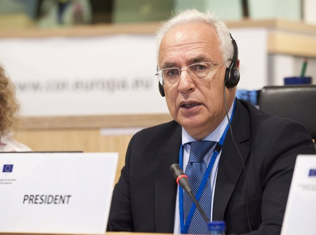 El presidente del Gobierno, José Ignacio Ceniceros en Bruselas