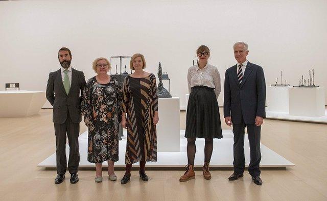 Exposición retrospectiva de Giacometti en el Guggenheim.