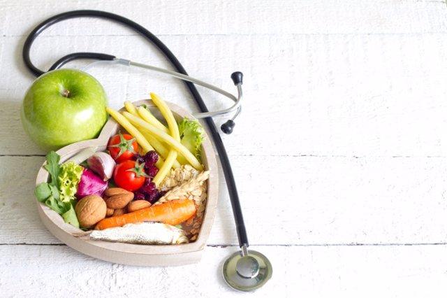 Comida sana, vitaminas