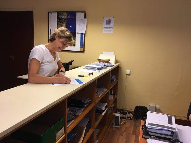 Valladolid.- Tejerina se inscribe para participar en las primarias.