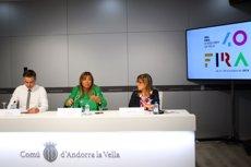 Un total de 200 expositors participen a la 40 edició de la Fira d'Andorra la Vella (EUROPA PRESS)