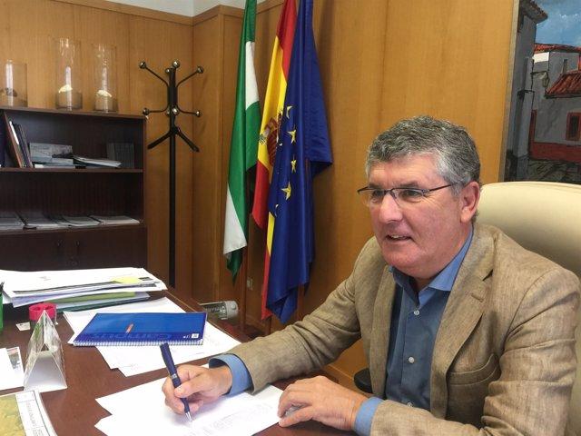 El delegado de Medio Ambiente en Huelva, José Antonio Cortés.