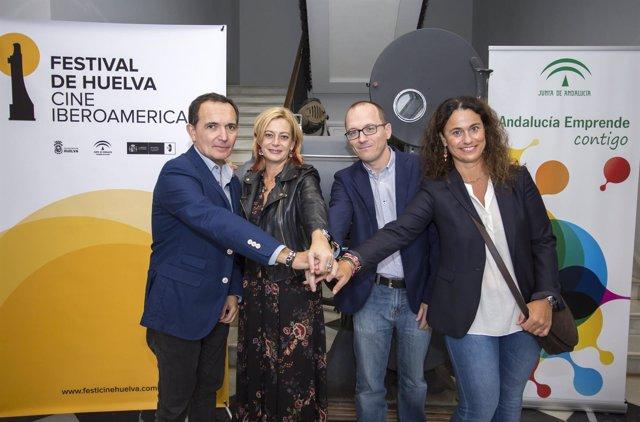Acuerdo entre el Festival de Cine de Huelva y Andalucía Emprende.