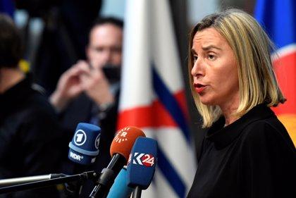 Mogherini se compromete ante Sánchez a crear un grupo de contacto sobre Venezuela