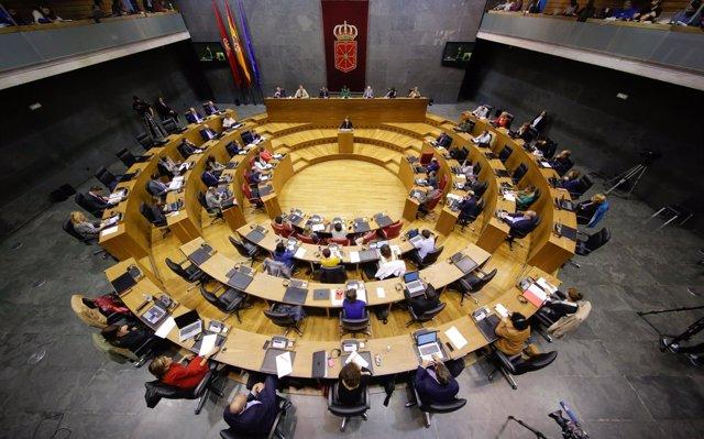El Parlamento de Navarra rechaza devolver las retenciones de IRPF en los permisos de maternidad