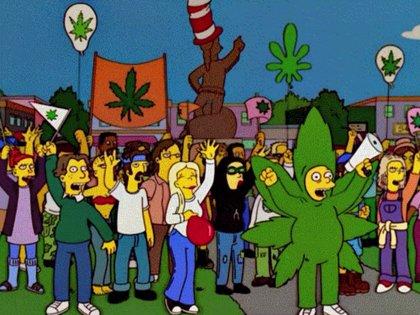 Lo han vuelto a hacer: Los Simpson predijeron que Canadá legalizaría la marihuana