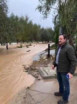 Ramón Millán visita Montalbán