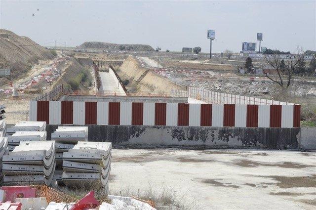 Obras para prolongar la red de Cercanías a Navalcarnero