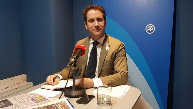 Entrevista a RNE al secretari general del PP, Teodoro García Egea