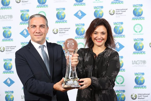 Bendodo recoge el premio al Mejor Destino Europeo de Golf