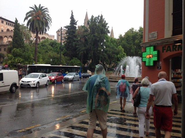 Lluvia Mallorca