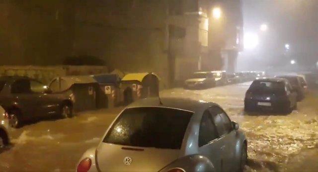 Inundaciones por la gota fría en Benicarlo, Comunidad Valenciana