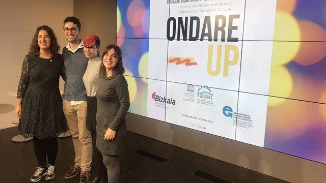 Presentación de Ondare UP en la Diputación de Bizkaia