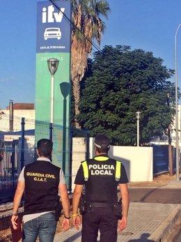 Operación en la ITV de Badajoz