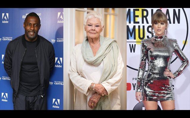 Judi Dench se une a Idris Elba y Taylor Swift en la película del musical Cats