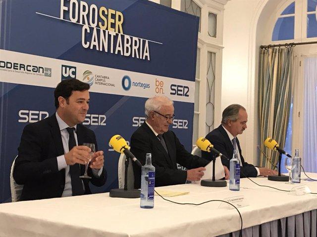Rivero en el Foro SER Cantabria