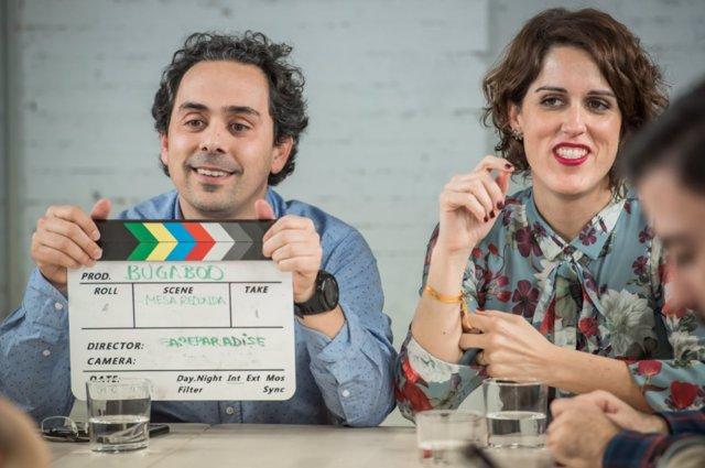 Pablo Sánchez y Laura Baena