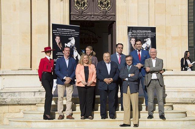 Presentación de la gala especial de la Escuela Andaluza de Arte Ecuestre
