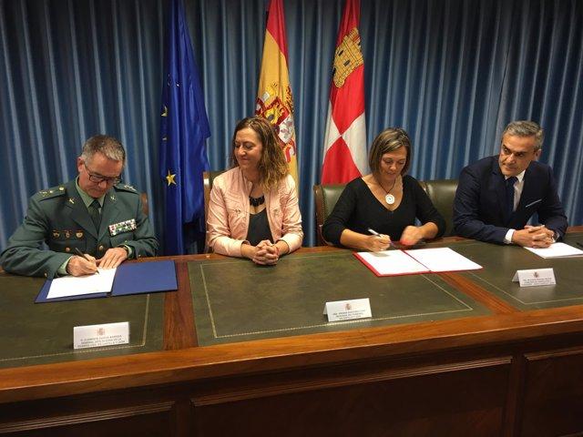 Valladolid.- Firma del protocolo