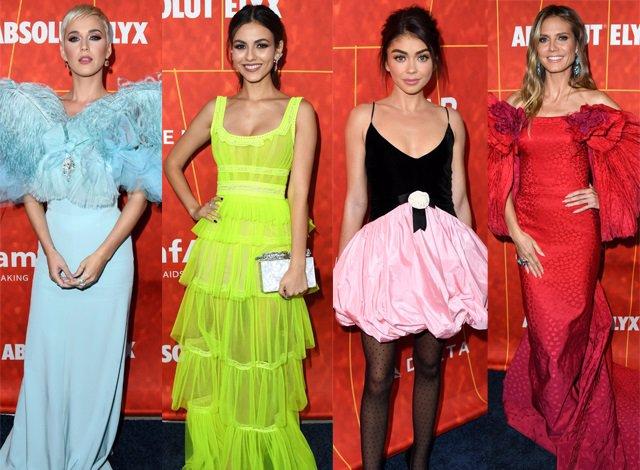 Todos los 'looks' de la gala amfAR de Los Ángeles