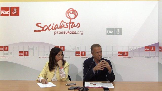 Esther Peña y Ander Gil.