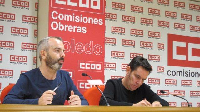 Arroyo y Sánchez en rueda de prensa