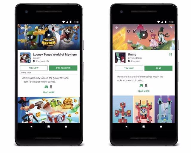 Google Play Extiende Las Pruebas Antes De Compra A Los Juegos