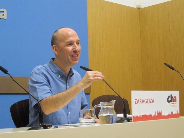 Carmelo Asensio, concejal de CHA
